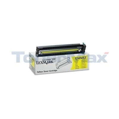LEXMARK OPTRA 1200 TONER YELLOW